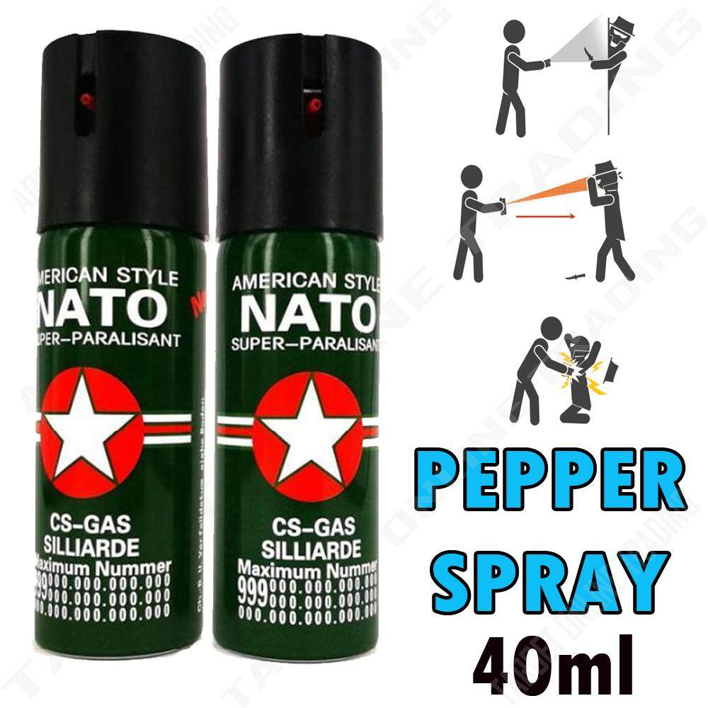 Self Defense Device 40ml for personal protection