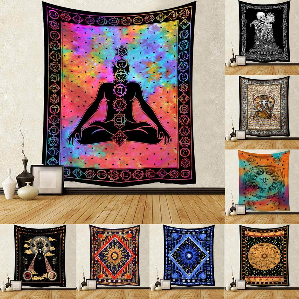 Tapestry Wall Hanging Polyester Mandala Pattern Blanket Tapestry Home Decor Hot