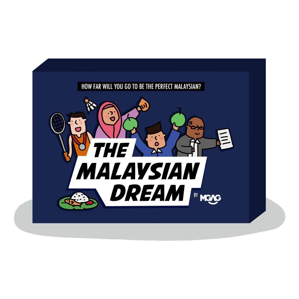 Authentic The Malaysian Dream Card Game by MGAG