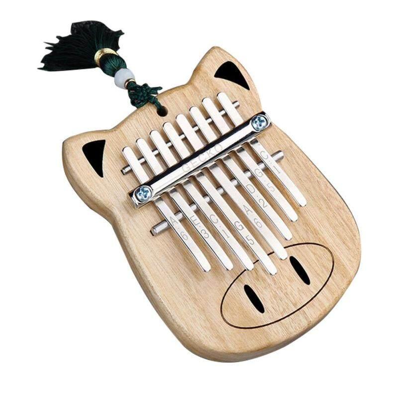 Âm thanh Hoạt Hình Ngón Tay Bộ Gõ Mini 8 Màu Hình Con Lợn Ngón Tay Cái Đàn Piano