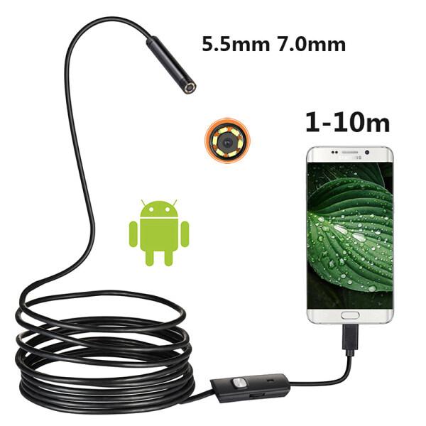 Bảng giá Camera Nội Soi Mini Camera USB 7Mm/5.5Mm Cho Kính Ngắm Kiểm Tra Android Phong Vũ