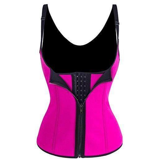 8b4bd7c13 HOT!Bodysuit Women Slimming Zipper Waist Trainer Cinta Modeladora Hot Body  Shaper Tummy Waist Cincher
