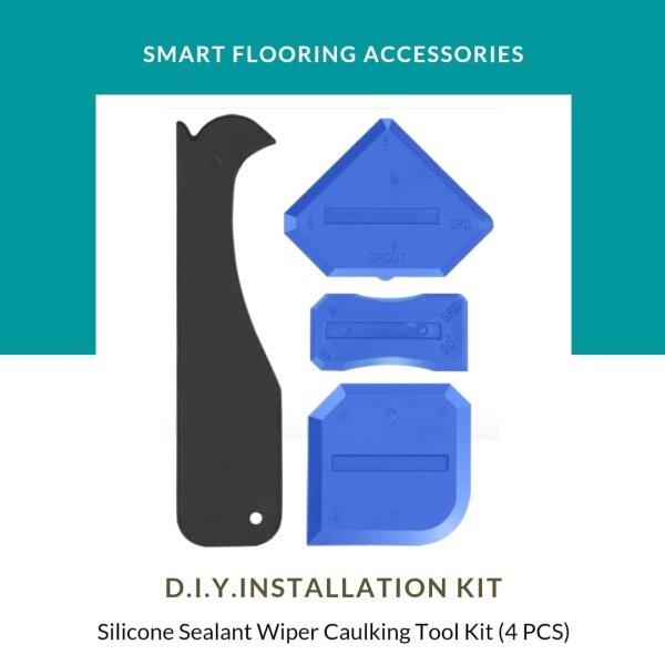 Silicone Sealant Wiper Caulking Tool Kit (4 PCS)