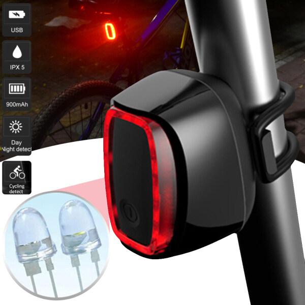 Mua Đèn Hậu Xe Đạp Cảm Ứng Phanh ILa Đèn Phanh Thông Minh Đèn Hậu Sạc USB Đèn LED Cảnh Báo