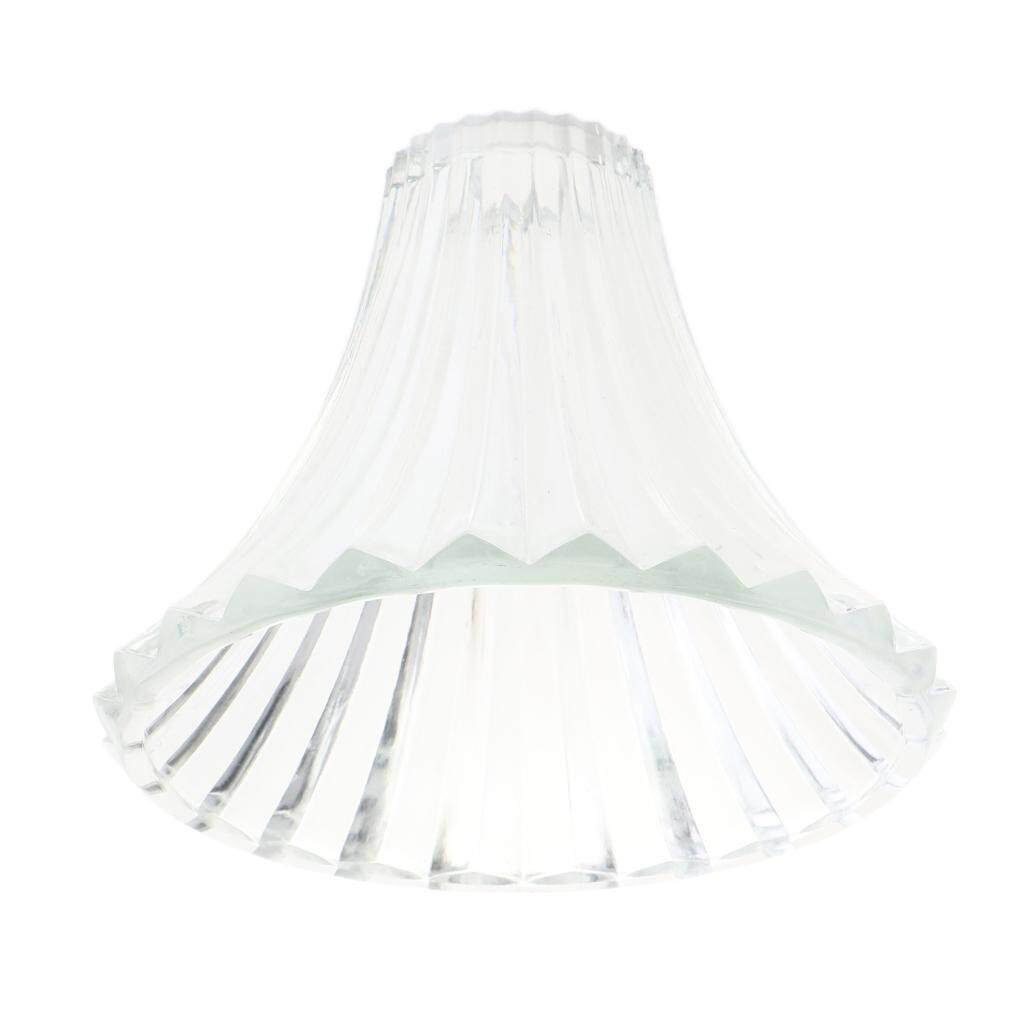 BolehDeals E27 Replacement Ceiling Chandelier Frosted and Clear Glass Lamp Shade