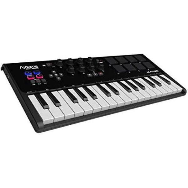 M-Audio USB MIDI Keyboard Controller 32 keys with 8 pads and 8 knobs Axiom AIR Mini 32 Malaysia