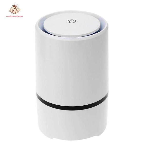 Portable USB Powered Air Purifier Ultra Silent Home Desktop Negative Ion Air Fresh Cleaner Singapore