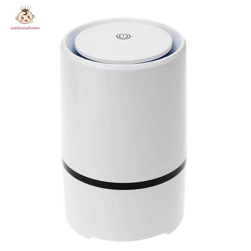 Portable USB Powered Air Purifier Ultra Silent Home Desktop Negative Ion Air Fresh Cleaner Singapore