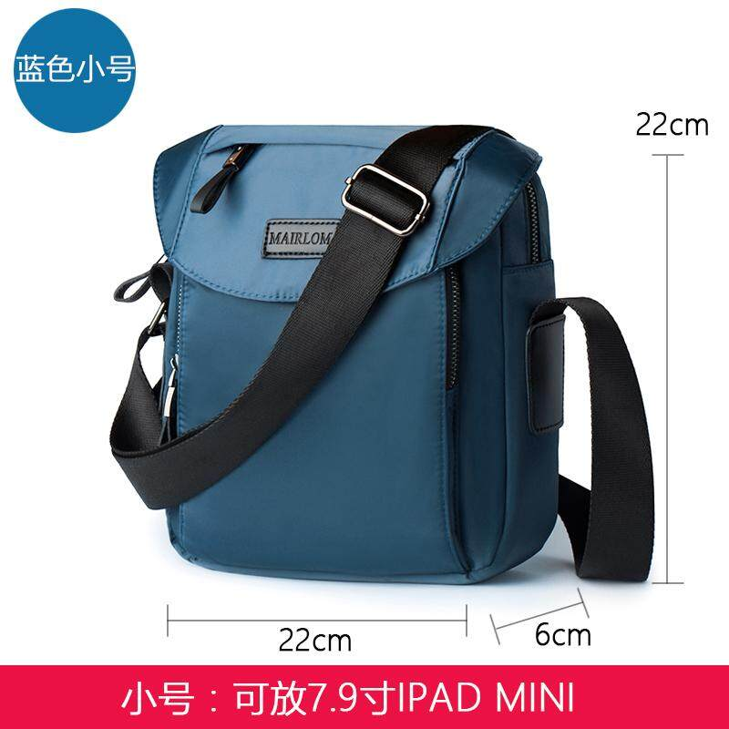 New waterproof shoulder bag mens Messenger bag mens bag Korean fashion trend small backpack casual sports mens bag