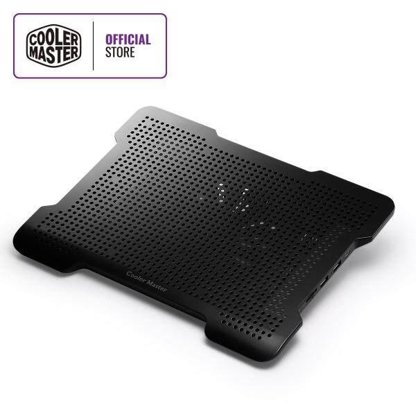 Cooler Master Notepal X-Lite II Notebook Cooler, Slim & Lightweight, 140mm Fan, 2 USB Ports, Fan Speed Controller, Full Metal Mesh Board, Up to 15.6 Notebooks Malaysia