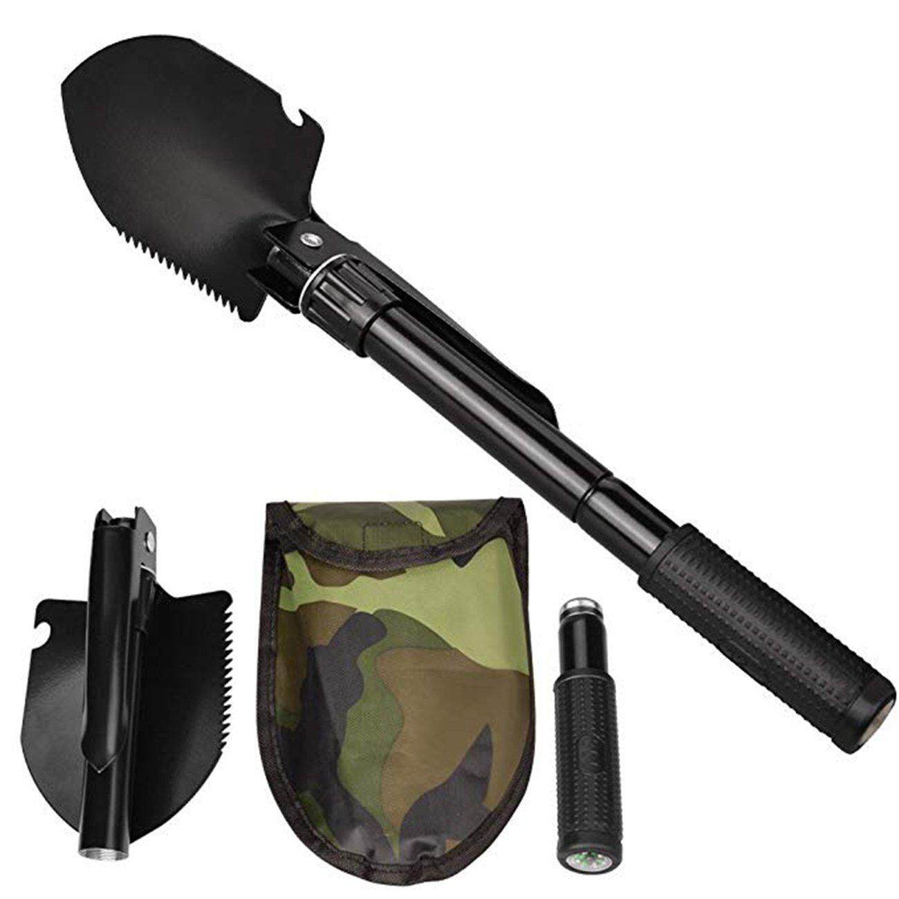 Hot Deals Multi-Function Shovel Collapsible Multi-Purpose Engineering Shovel Small