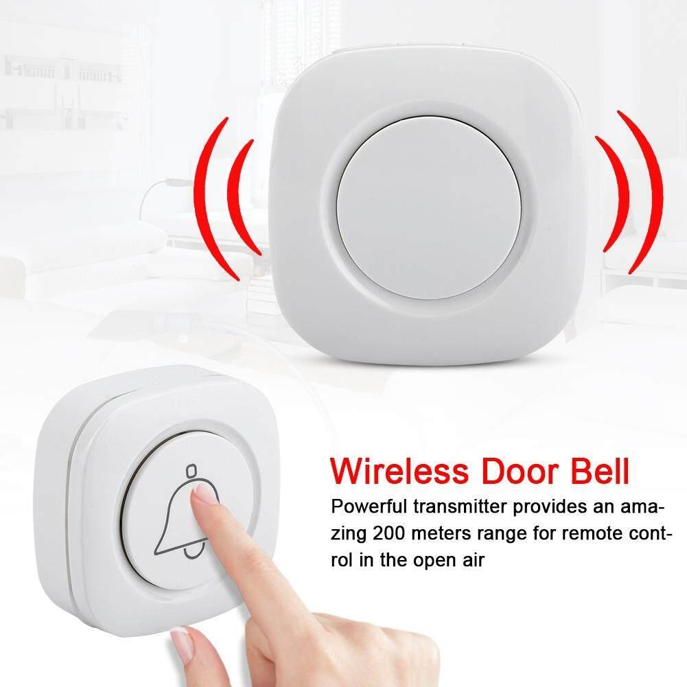 Không dây Cắm Chuông Cửa Cửa Chuông Doorbells 44 Giai Điệu 200 m Phạm Vi (90-240 V)