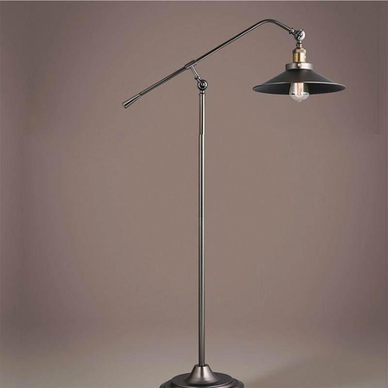 Loft Vintage Nostalgic Industrial Wind Long Arm Foreign Trade Floor Lamp for Study Living Room Bedroom