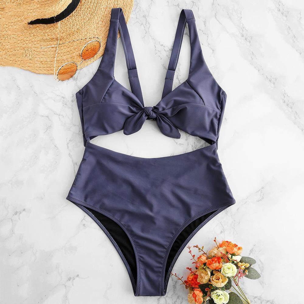 464fafcac3 ZAFUL Brand Women Sexy Push Up Soild Color Triangle Bikini Swimsuits Sexy  Fashion Padded Bikini Bra
