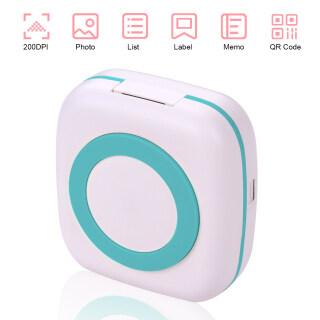 Máy In Túi Mini BT Wireless Portable Instant Máy In Di Động 57Mm Giấy Nhiệt Biên Nhận Nhãn Dán Ảnh Ghi Nhớ Bức Tranh Được In Tương Thích Với IOS Android Hệ Điều Hành Điện Thoại Thông Minh thumbnail