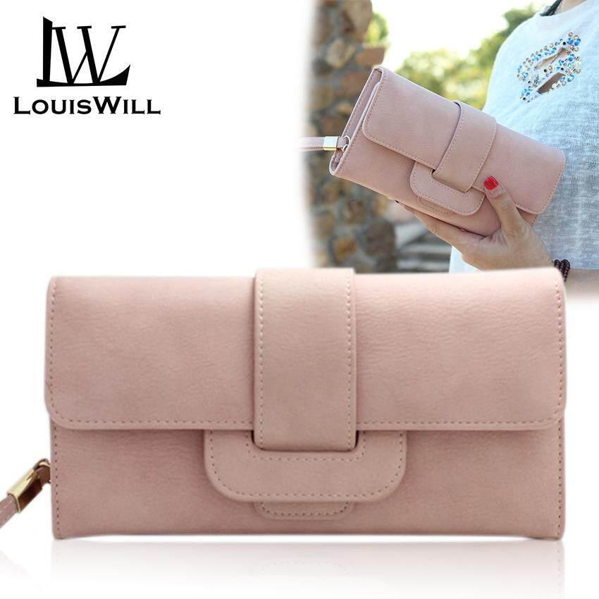 42f50789dd81 LouisWill Women Long Wallet PU Card Holders Large Capacity Female Purse  Money Bag Fashion Ladies Clutch
