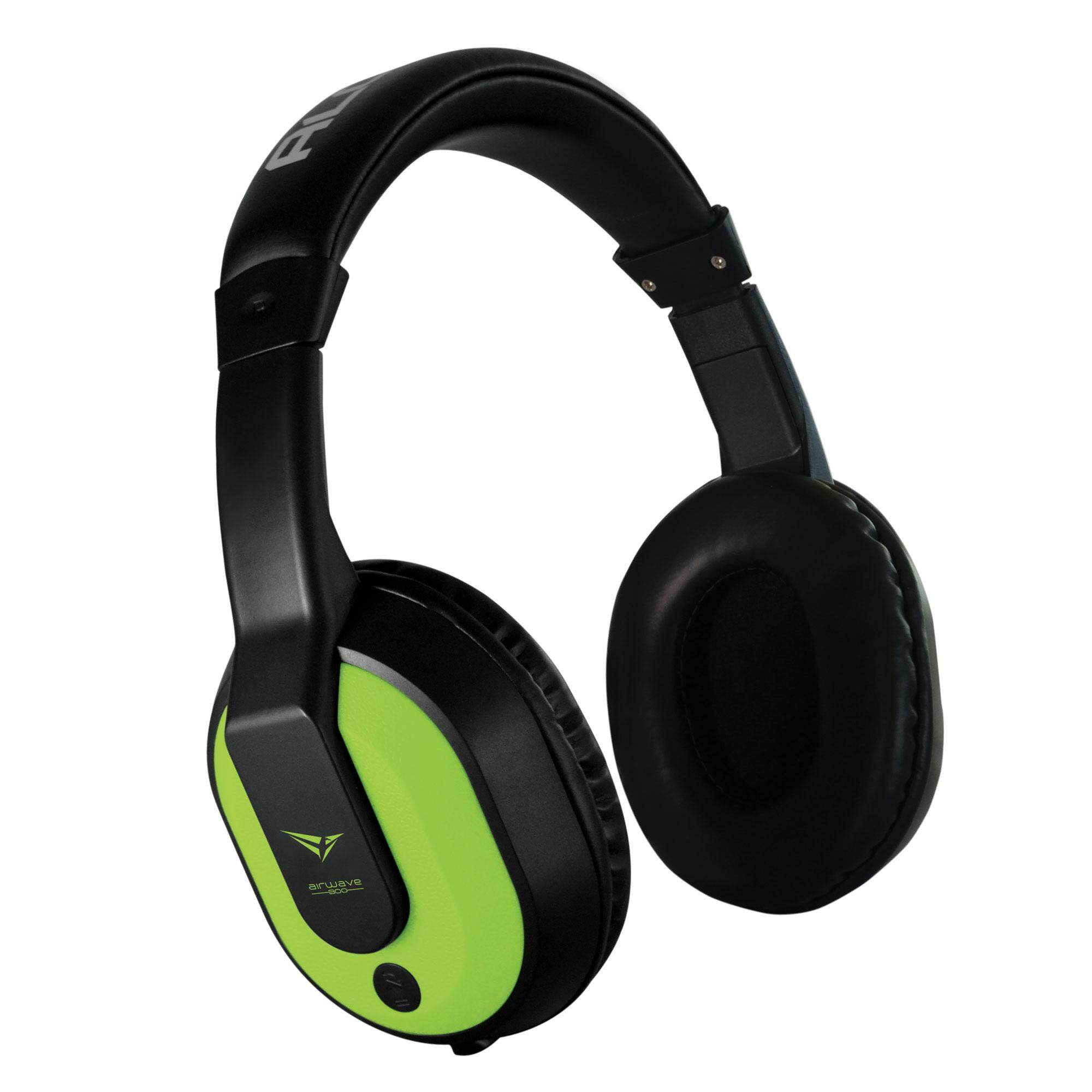 Alcatroz Airwave 300 Wireless Bluetooth Headset With Micro-Sd Mp3 Playing Function (green) By Alcatroz.