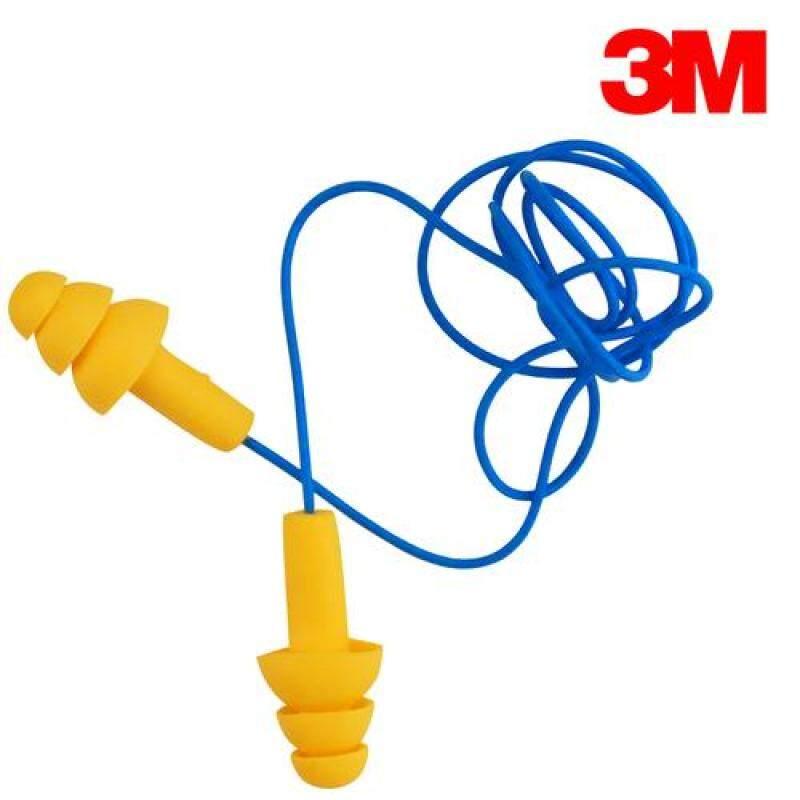 3M E-A-R UltraFit Earplugs 340-4004 (Corded, Noise Reduction, NRR: 25 dB)