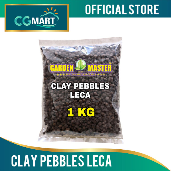 Clay Pebbles LECA for Hydroponics, Aeroponic & Aquaponics (1KG)