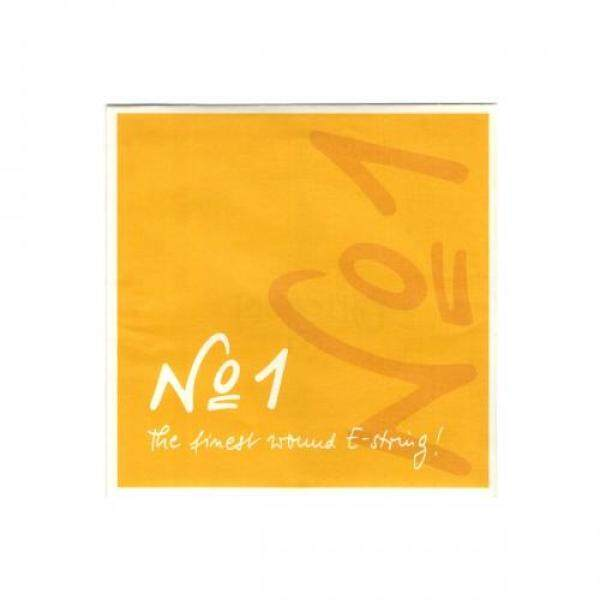 No.1 Number One Violin String E Wire Steel/Chrome Steel Winding 4/4 Loop End 3115 Malaysia