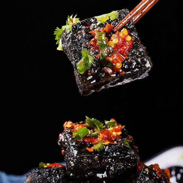 Send Soup Ingredients】Changsha Stinky Tofu Embryo Black Authentic Classic Semi-Finished Fried Raw Embryo Specialty Snacks