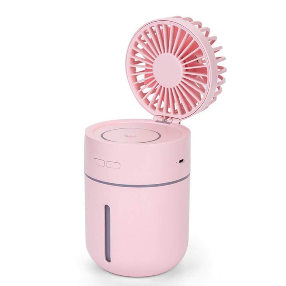 Bảng giá Nhà máy sản xuất trực tiếp sáng tạo xịt nhỏ quạt máy xông tinh dầu máy phun sương tạo độ ẩm mini USB để bàn ẩm tinh dầu phun Màu Hồng