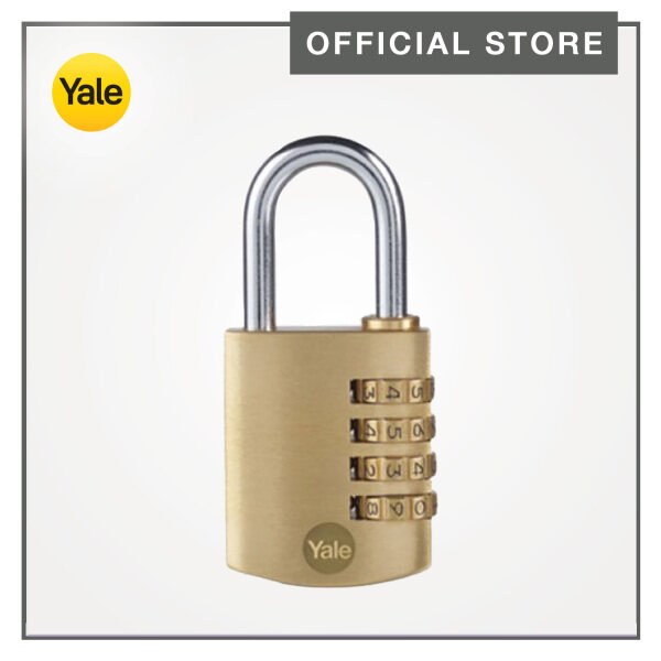 Yale Y150B/40/130/1 40mm Brass Combination Padlock