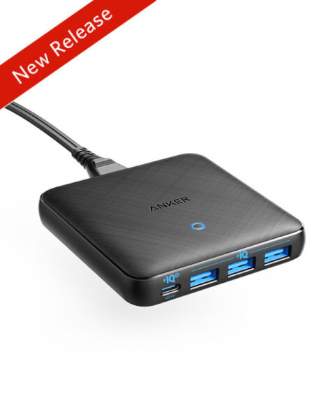 [In stock send the ordering day] Anker 65W USB C Charger 4 Port PIQ 3.0 & GaN Fast Charger Adapter, PowerPort Atom III Slim Wall Charger with a 45W USB C Port, for MacBook, USB C Laptops, iPad Pro, iPhone, Galaxy, Pixel and More anker