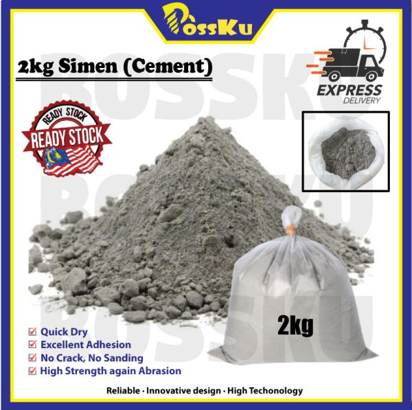 2KG 3 in 1 Cement Ready Mix Simen Sedia Campur Pre Mix Plaster