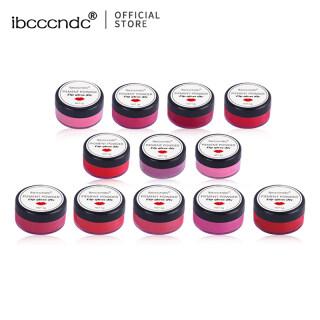 Một gam bột màu Mica Ibcccndc tự nhiên an toàn khi sử dụng để tự làm son môi phấn vẽ móng nghệ thuật phấn mắt, có 12 loại màu để lựa chọn - INTL thumbnail