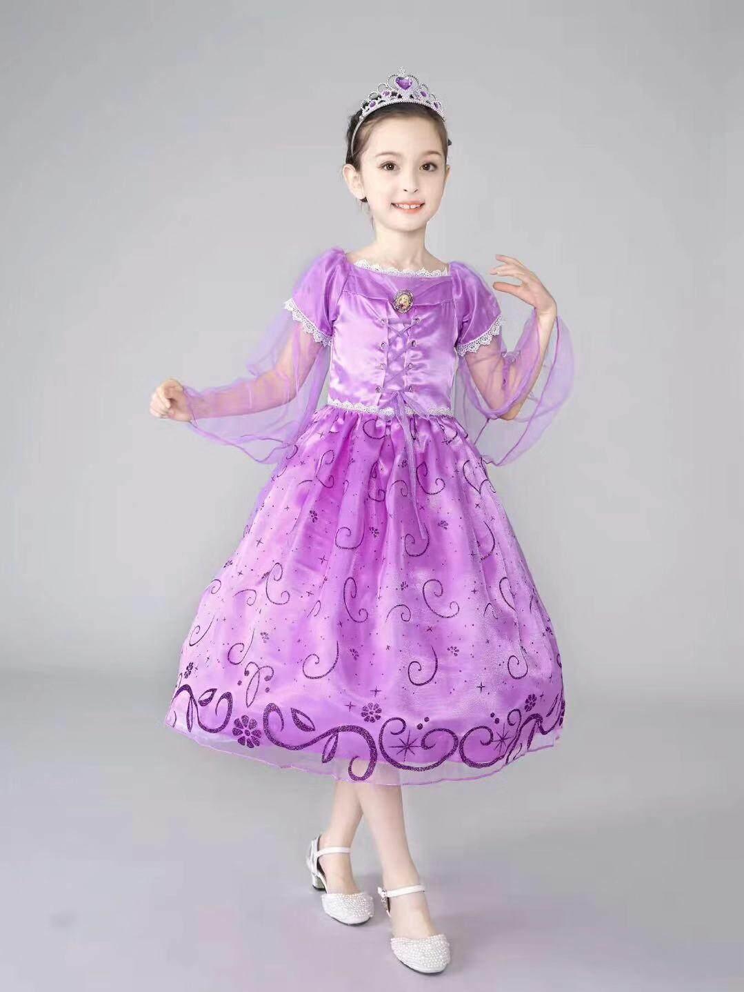 CY 9193 MUSLIMAH MUSLIM DISNEY PRINCESS DRESS COSTUME RAPUNZEL