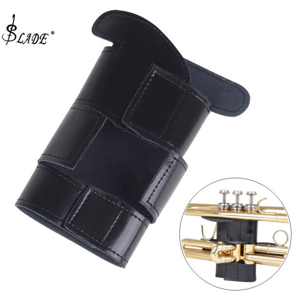 SLADE Trumpet Hand Grip Protective Cover Case Black PU Leather Musical Wind Instruments Accessories Malaysia
