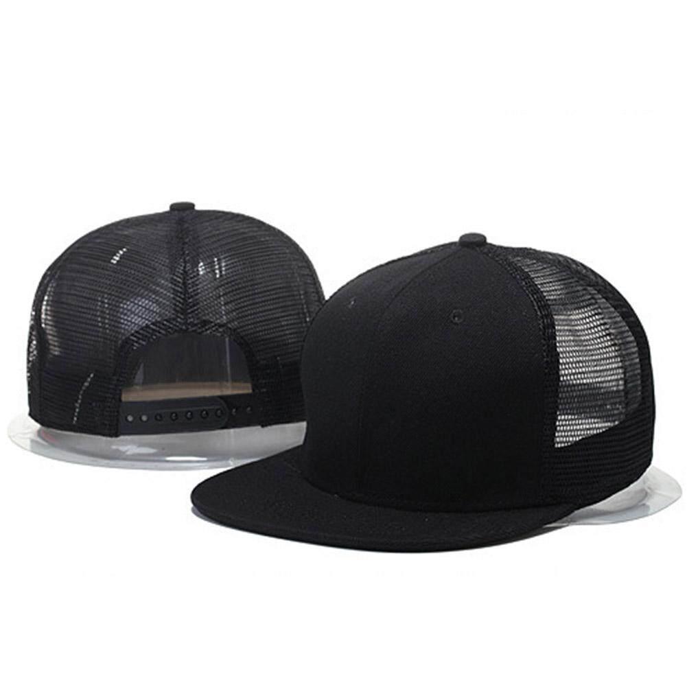 new style 28e35 86917 SunnyShop Women Men Fashion Simple Mesh Splicing Adjustable Baseball Cap