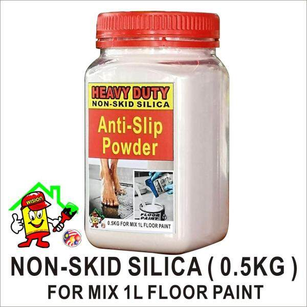 ANTI SLIP POWDER ( 480 gram )/ Anti Skid Powder / HEAVY DUTY  / NOT SKID SILICA FOR MIX 1L FLOOR PAINT EPOXY / NON SKID SILICA MIX ADD EPOXY FLOOR PAINT