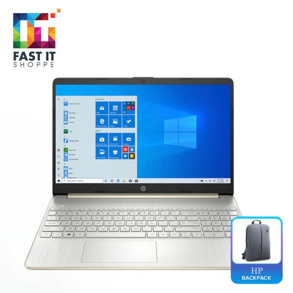 HP 15S-EQ0068AU PALE GOLD ( R5-3500U,4GB,512SSD,15.6 FHD,W10,2YRS ) Malaysia