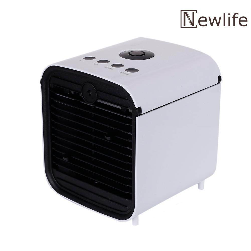 Newlifestyle Mini Air Cooler Three Speed Air Conditioner Home 7 Colors Light Cooling Fan