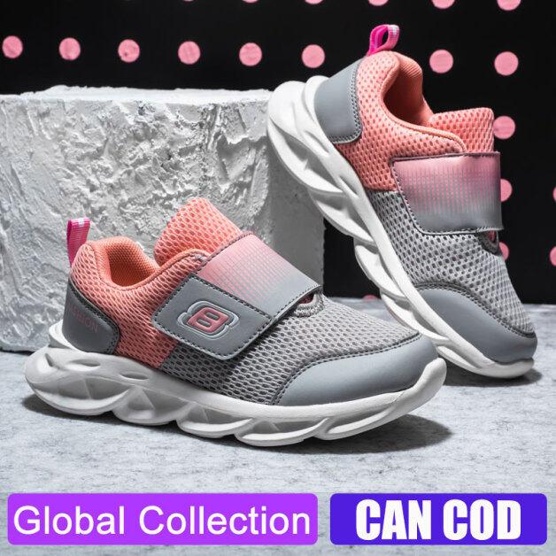Giày Thể Thao Cho Trẻ Em, Giày Chạy Bộ Lưới Thường Ngày Chống Trượt Cho Bé Trai Bé Gái giá rẻ