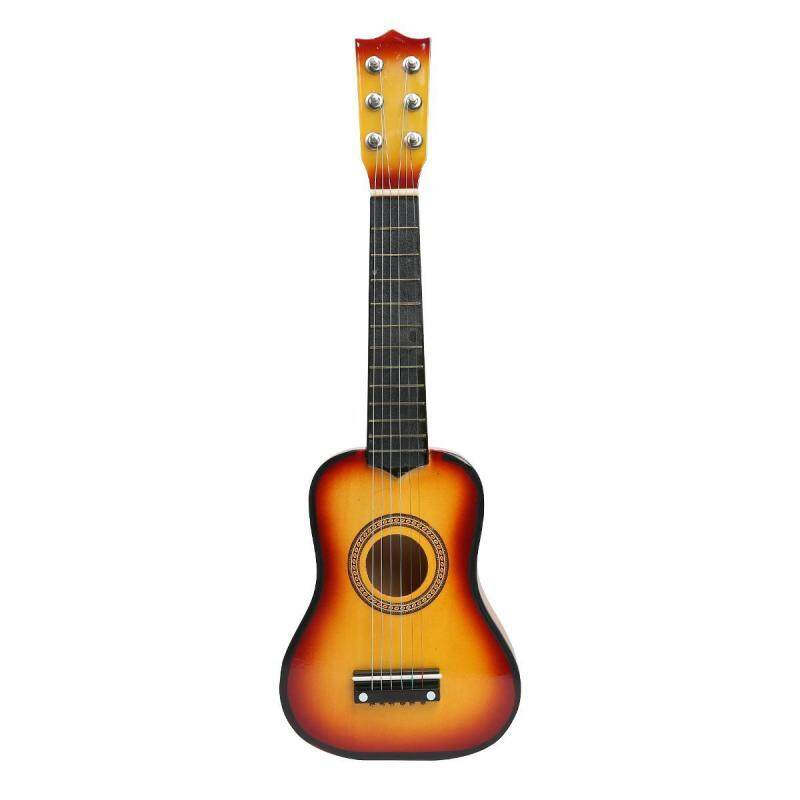 Bumblebaa Childrens guitar, 21-inch multi-color wooden children beginner learning guitar Malaysia
