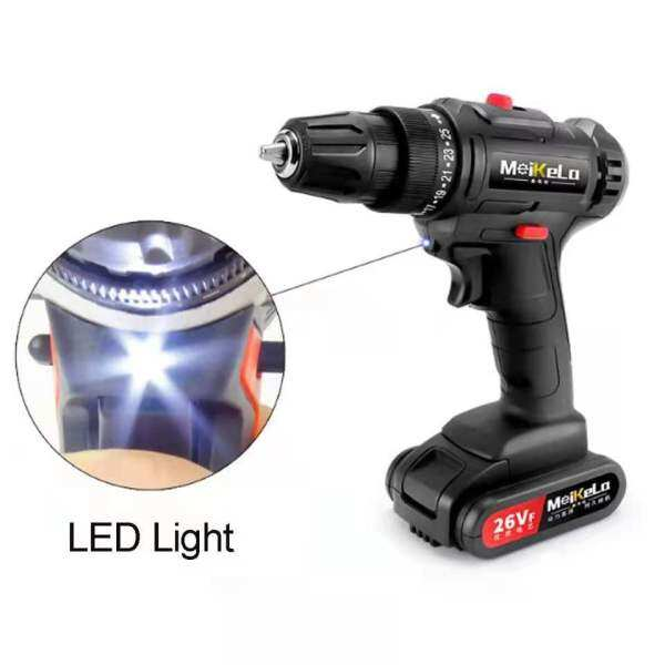 1080W 36V Cordless Drill Electric Screwdriver Mini Handheld Wireless Drill Driver Power Tools With Rechargeable Lithium Battery