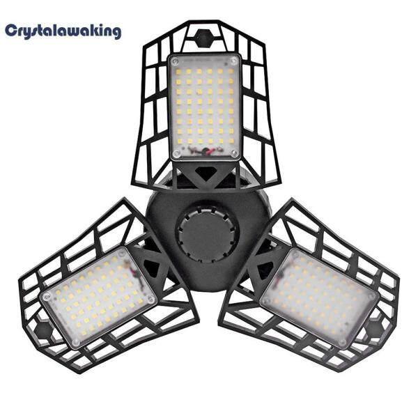 E27 144LED 60W Iron Man Deformation Folding Light Creative Hanging Lamp