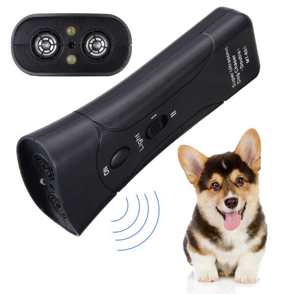 Chó Cưng Siêu Âm, Huấn Luyện Viên Chống Sủa Đèn LED Ánh Sáng Dịu Nhẹ, Phong Cách Petgentle