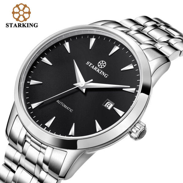 STARKING Original Brand Watch Men Automatic Self-wind Stainless Steel 5atm Waterproof Business Men Wrist Watch Timepieces AM0184 Malaysia