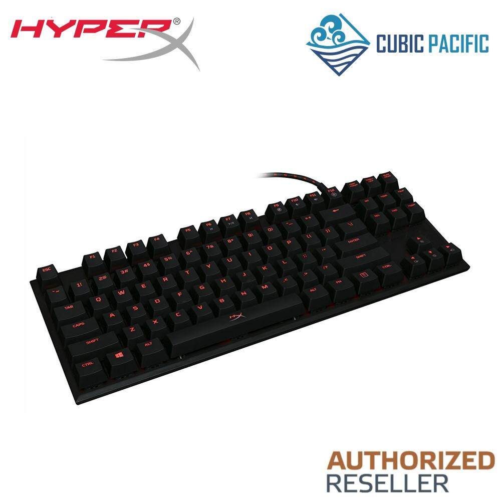 Kingston HyperX Alloy FPS Pro Tenkeyless Mechanical Gaming Keyboard, Cherry MX Blue/ Red, Red LED Malaysia