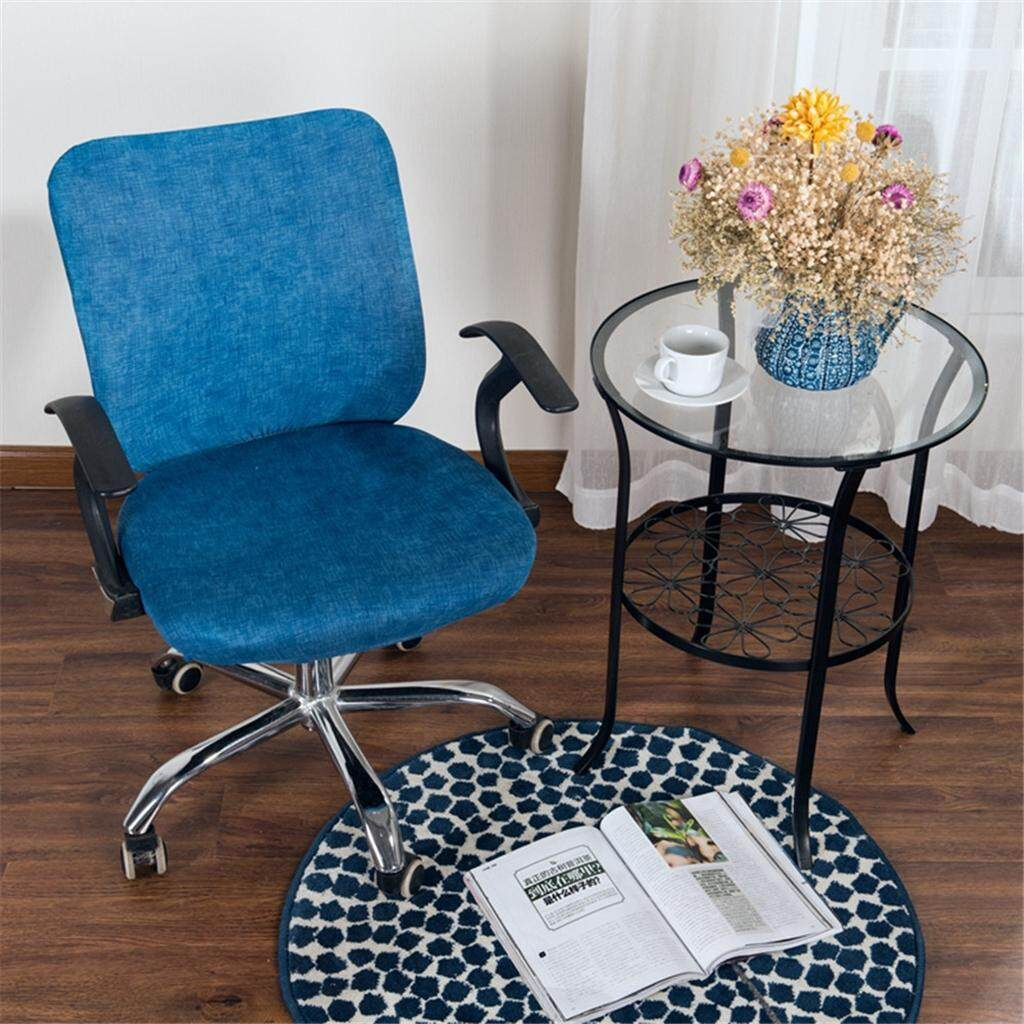 Fine Loviver Stretchable Office Computer Desk Chair Cover Universal Rotate Seat Slipcover Squirreltailoven Fun Painted Chair Ideas Images Squirreltailovenorg