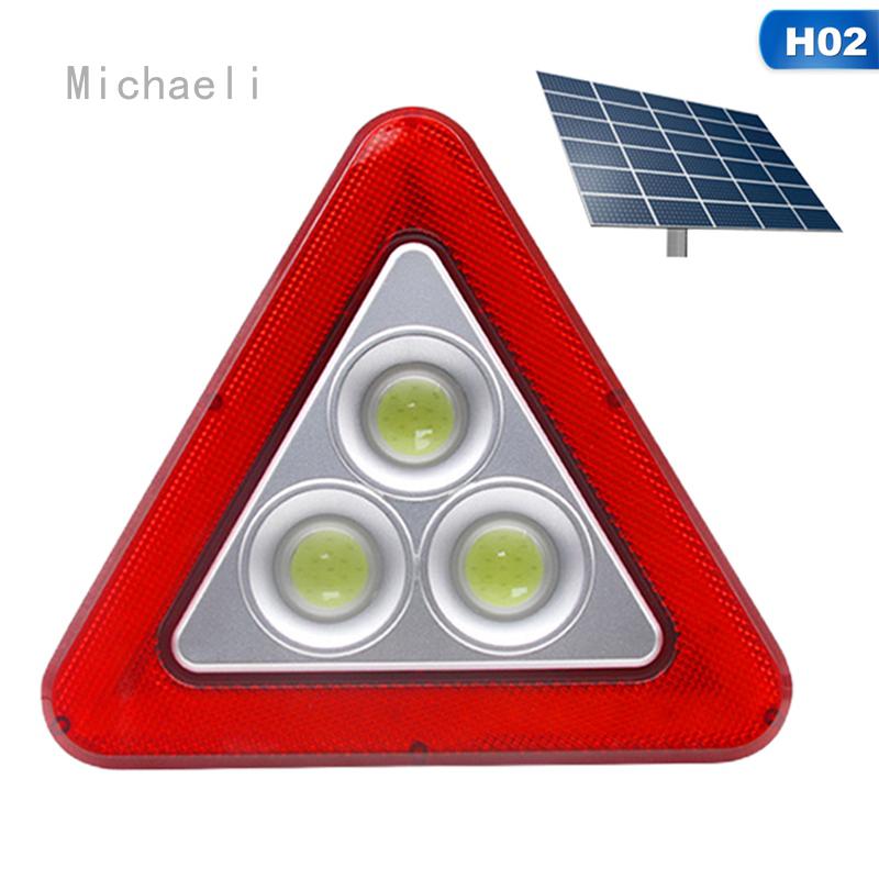 Lampu Tanda Darurat LED Segitiga Peringatan Keselamatan Mobil Micheleli | Malaysia