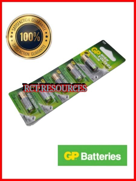 5pcs GENUINE GP 23A Remote Alarm Alkaline Battery Malaysia