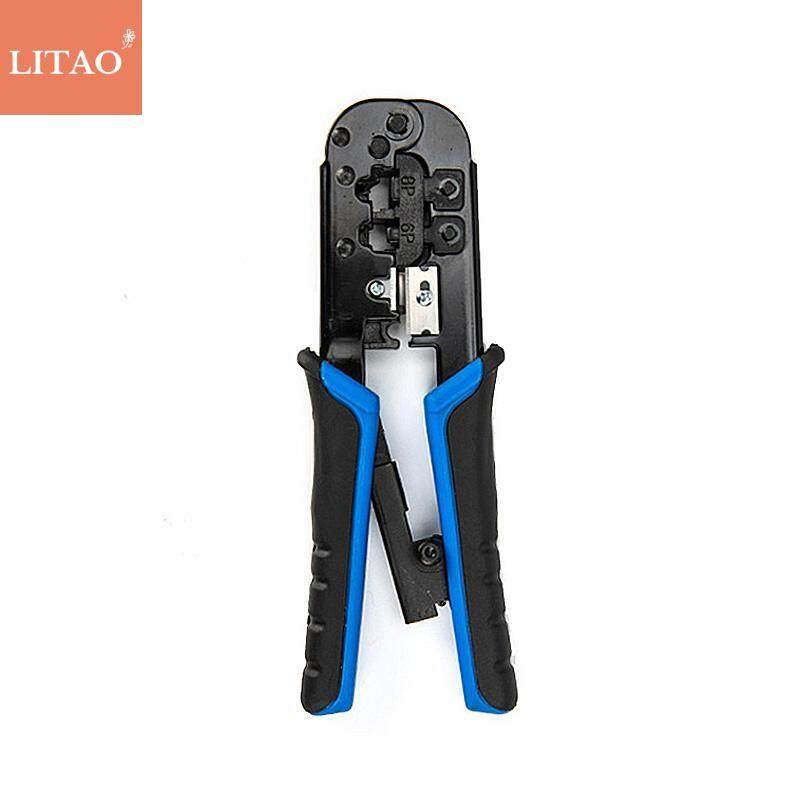 LiTao Universal Dual-use Network Crimping Pliers Multi-function Network Cable Installation And Maintenance Manual Tool