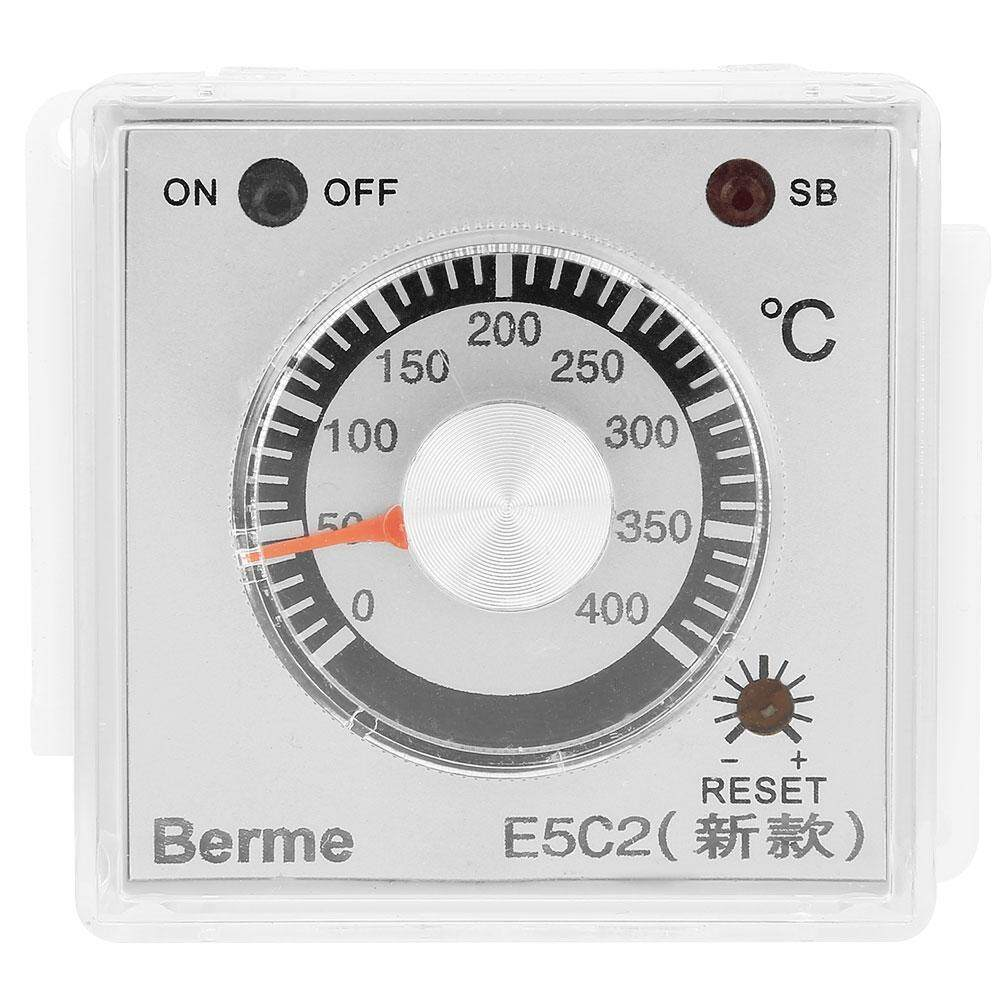 【Time-limited Promotions】E5C2-A4RPK Electronic Thermostat 48*48 Pointer Temperature Control Instrument