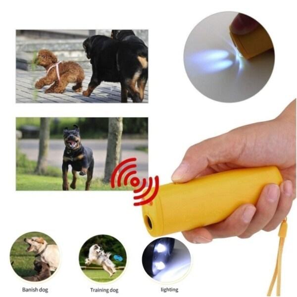 Thiết Bị Huấn Luyện Chó Thú Cưng Tăng Cường, Siêu Âm Repeller, Thiết Bị Huấn Luyện Viên Điều Khiển 3 Trong 1 Chống Barking Bark Dừng Deterrents