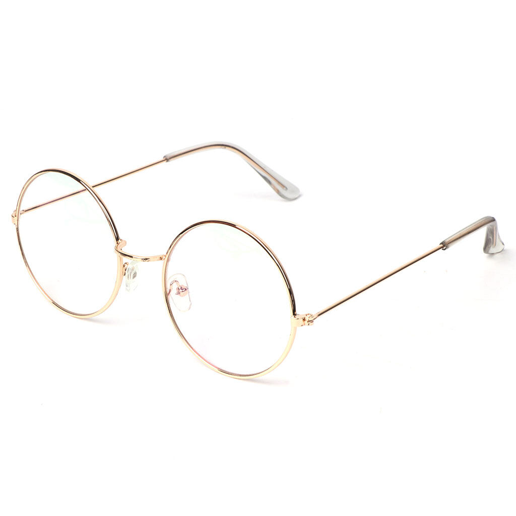 Round Sunglasses Vintage Women Men Glasses Retro Fashion Lens Shades Ocean Color